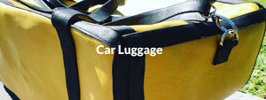 CAR LEATHER LUGGAGE