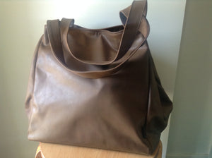 The Gigi - Large leather tote bag - Soft shoulder leather tote