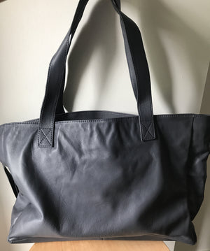The Total - Classic Leather Tote Bag