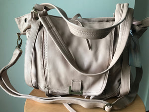 The Pouch-Shoulder handbag made from genuine lambskin leather. The Pouch is a unique design.