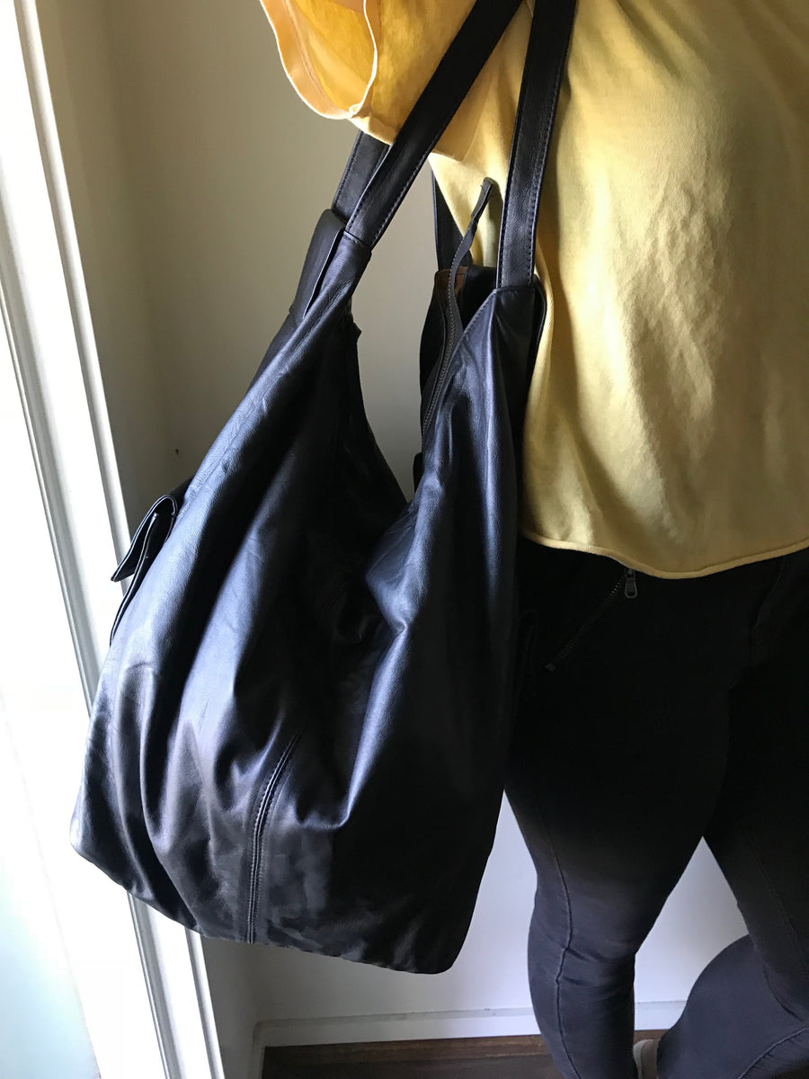 The Mass Tote - NEW Triangular shaped large handbag.
