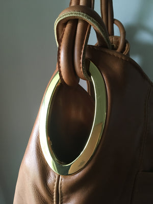 The Montana - Unique handbag tote real leather shoulder bag
