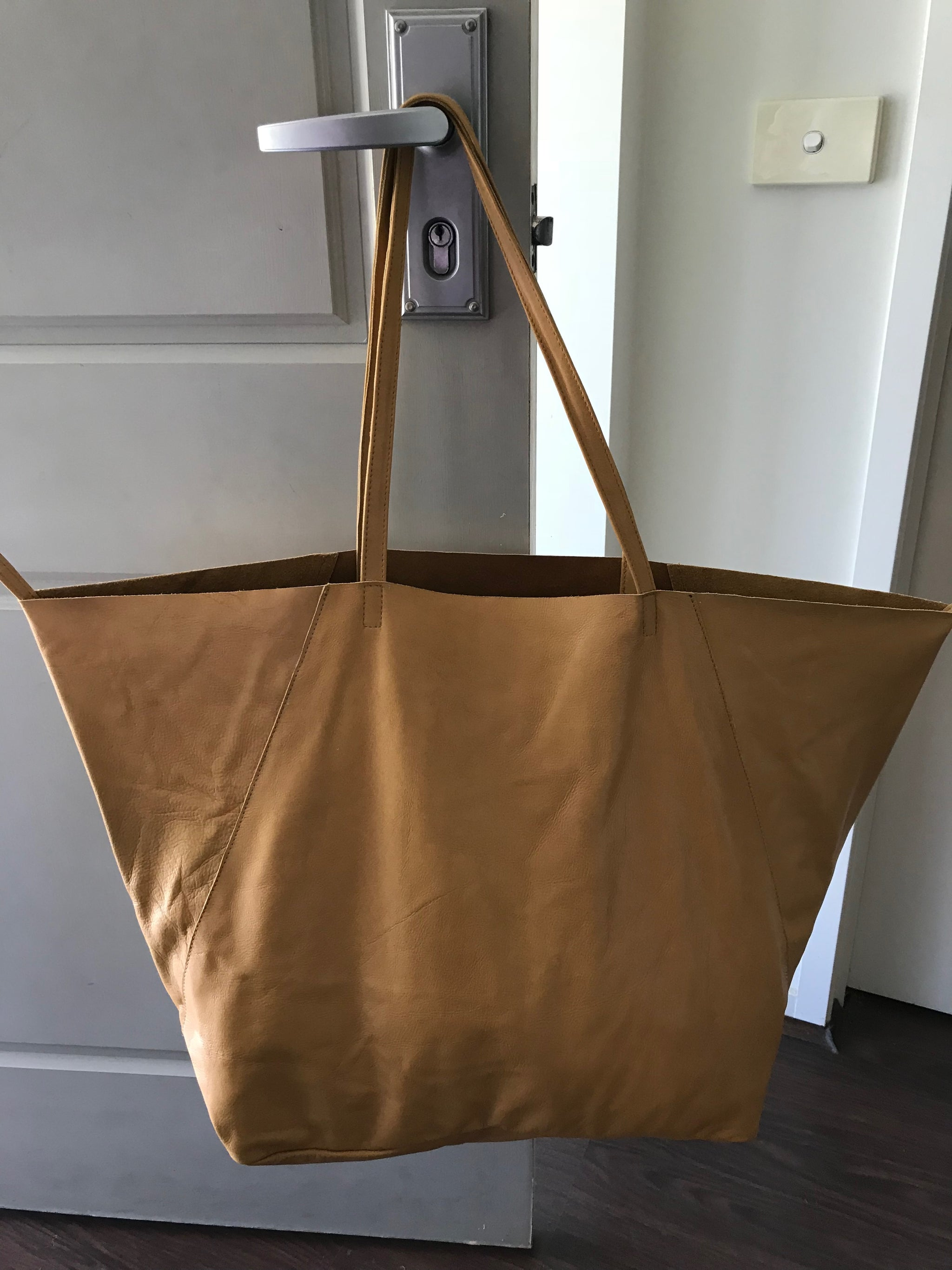 The Tie Up Tote - New design