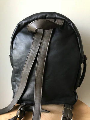 The Koda-Leather backpack handmade and able to be customised.