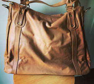 The Natalie Bag - NEW -Large,soft and functional handbag purse that converts to backpack.