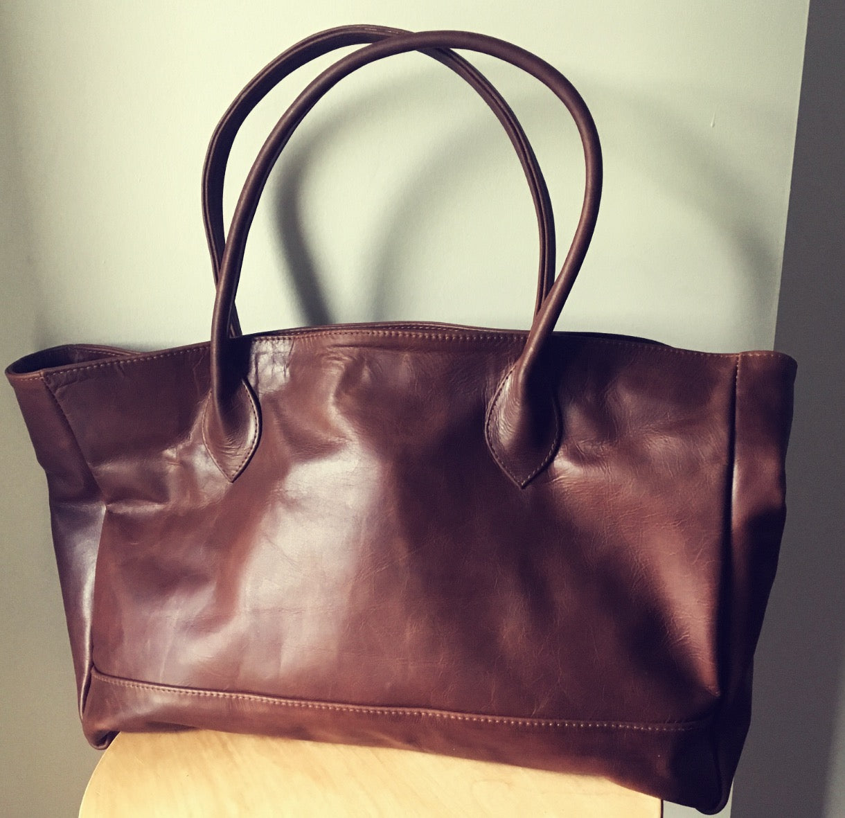 The Patron Tote- Classic style meets function