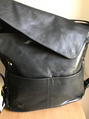 The Holster-Shoulder tote made from genuine leather