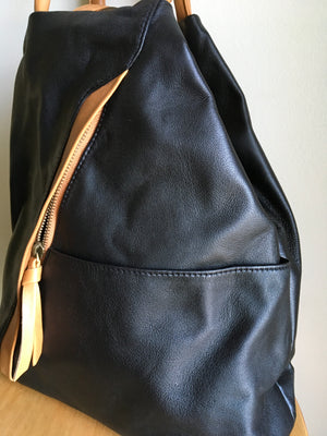 The Pyramid - Convertible backpack handbag
