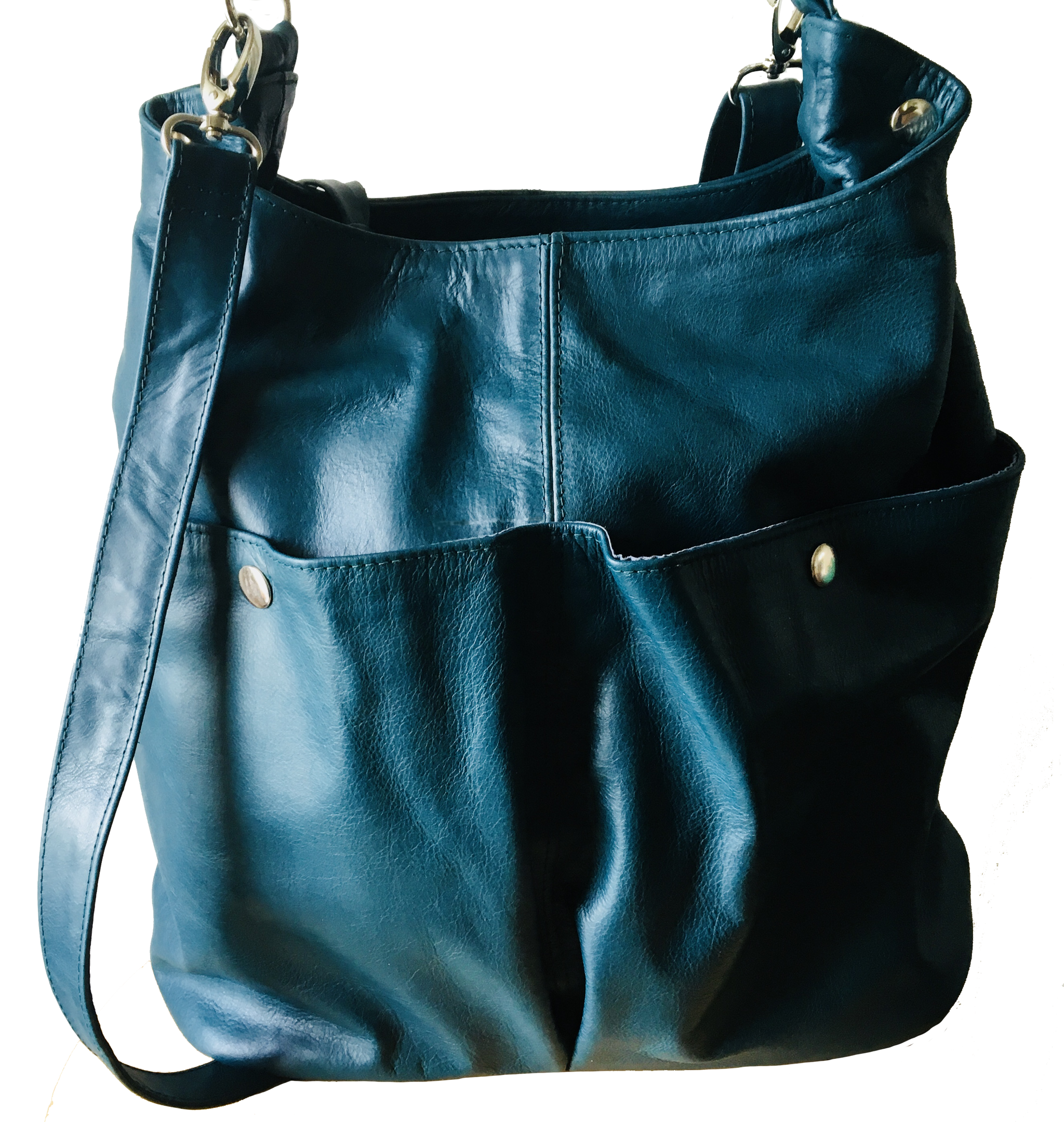 The Rio-Convertible soft shoulder tote bag which expands.