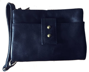 The Double Wallet - Beautiful soft luxurious leather wallet