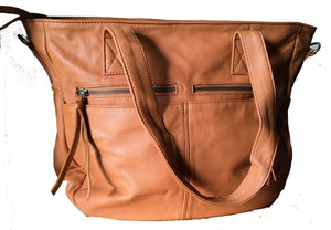 The Envoyage - Perfect work bag leather tote.
