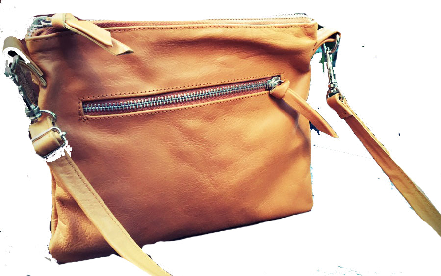 4077ef813d05 The Hipster-Small Leather crossbody bag. Simple compact and stylish made  from soft leather.