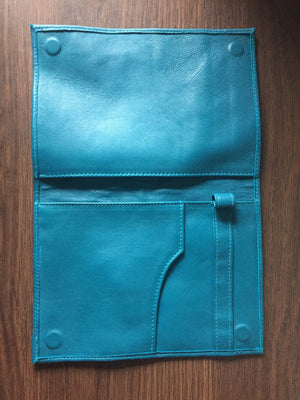 The Stash - Soft leather, tablet or notebook compendium