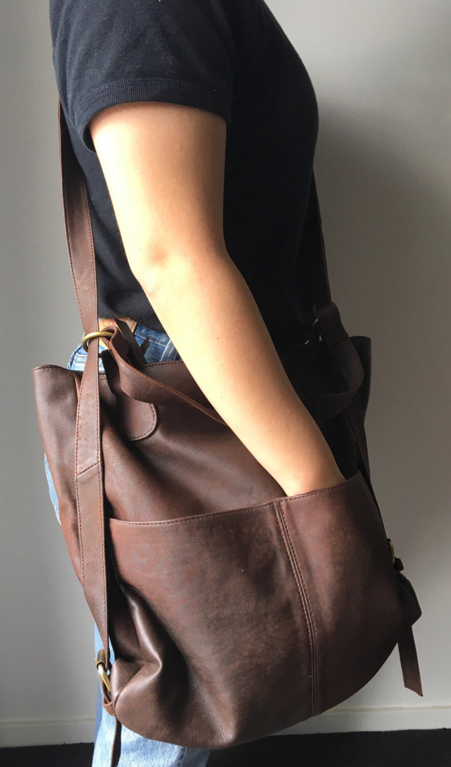 The Holster-Convertible backpack rucksack bag.