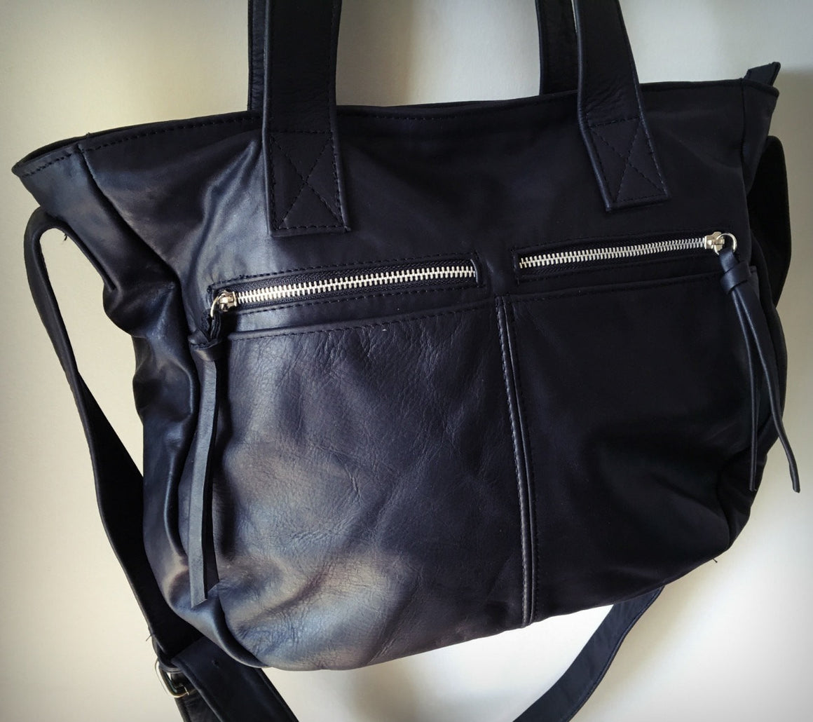 The Envoyage Bag - Large,soft and functional handbag purse.