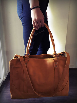 The Long Attache-Computer Work Tote bag with strong straps
