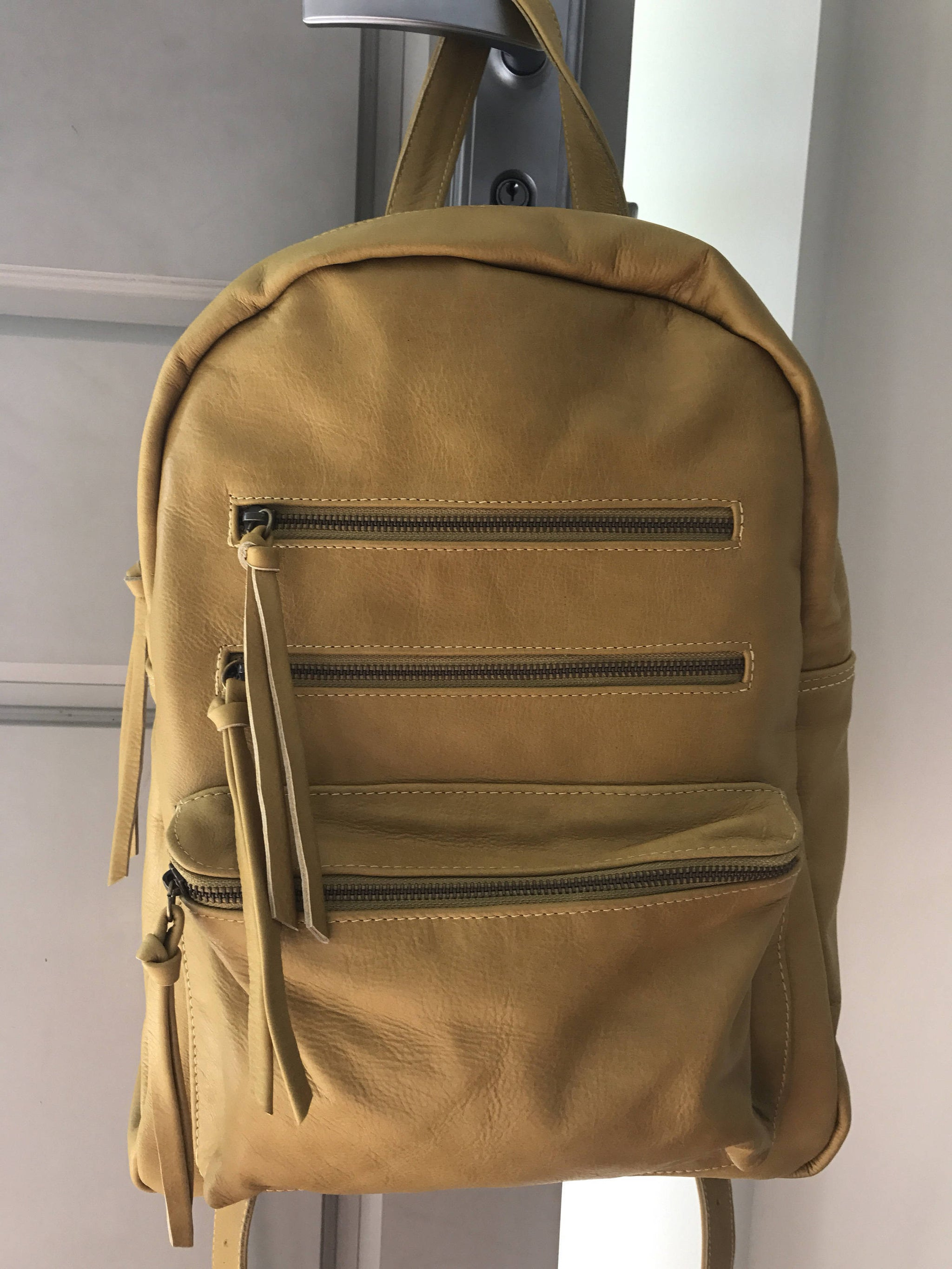 The Koda Backpack - Leather backpack handmade and able to be customised.