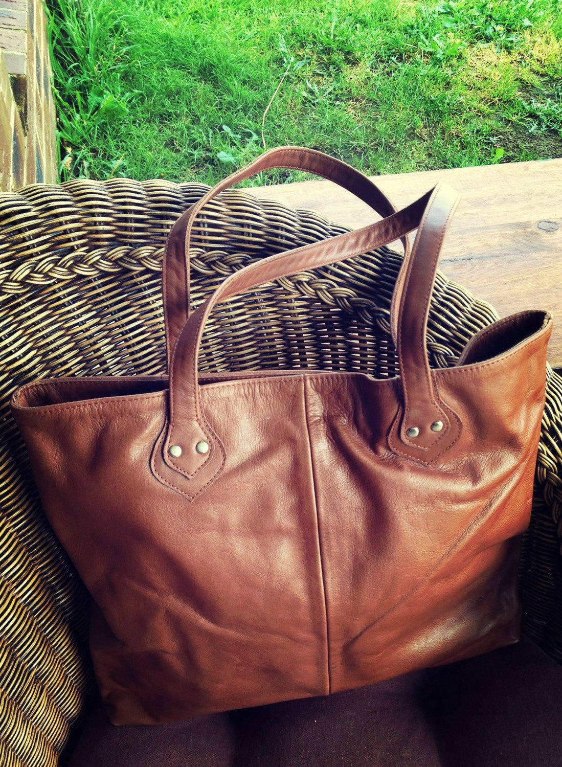 The Shopper -  Quality, durable shoulder tote.