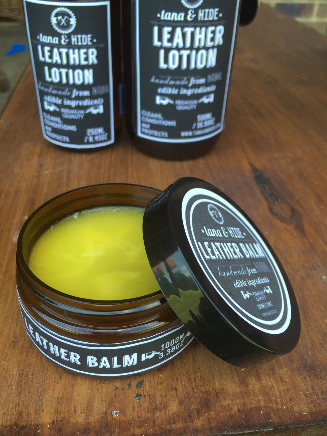 Leather Balm. 100gms. Protect, soften and restore your leather products so they look new.