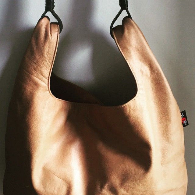 The Keeper - Genuine leather handbag, soft and unique.The Keeper is generously sized tote.