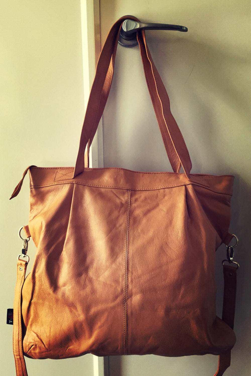 The Flick-Handmade shoulder tote handbag purse. Shoulder straps and crossbody strap.