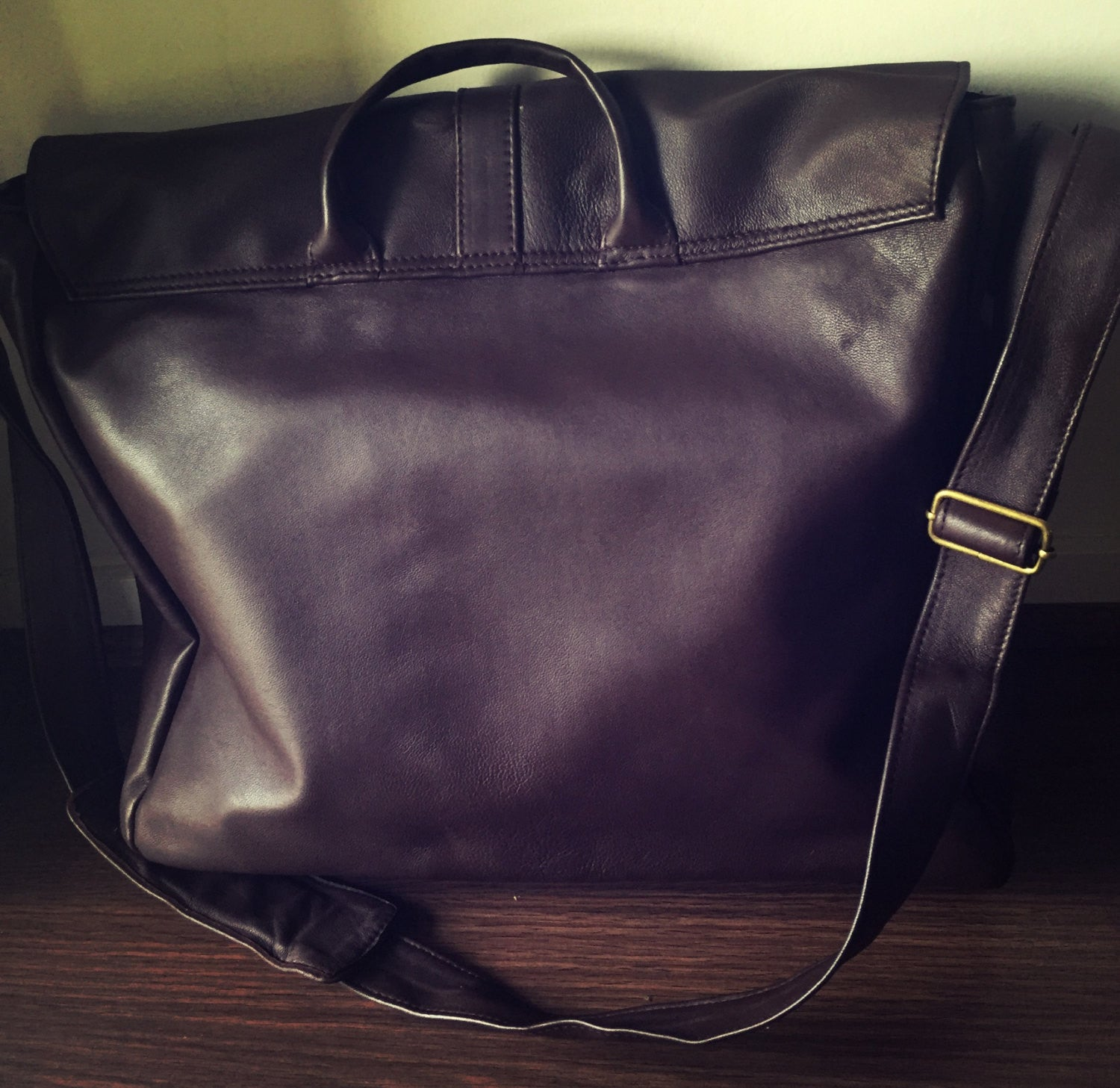 The Folio - Computer, laptop leather satchel work bag