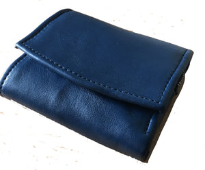 The Kitty-Womens Leather purse wallet.Coin and note sections,press stud, fully lined and compact.