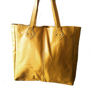 The Shopper - The perfect Leather Tote Bag.