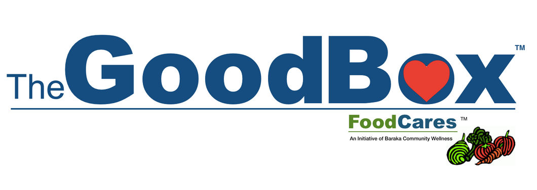 $165 Five GoodBox Donations = 10 GoodBoxes to Families in Need!