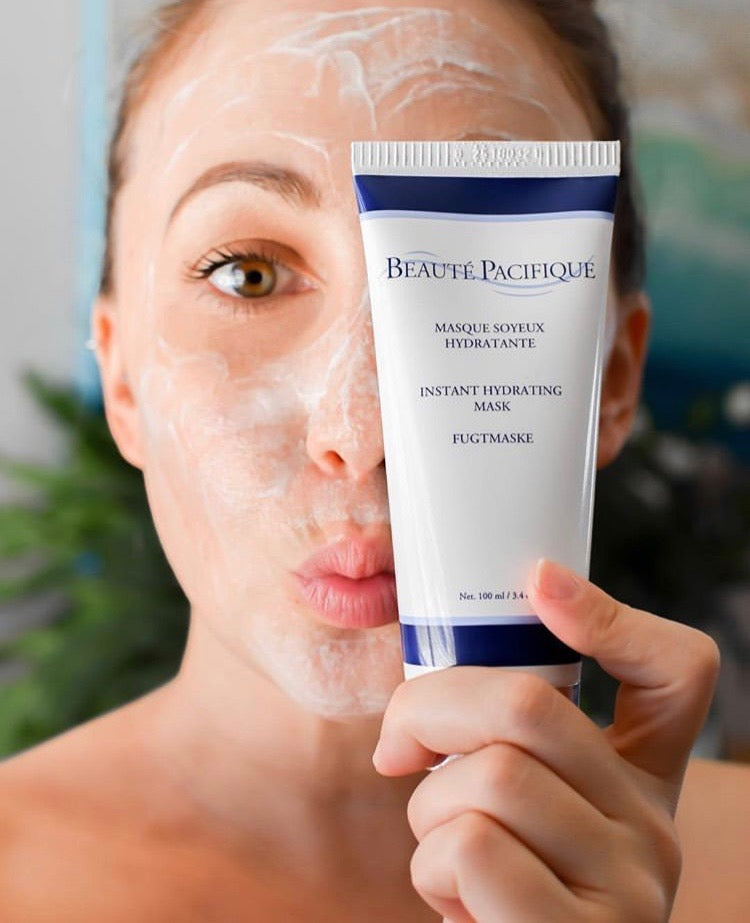 Beaute Pacifique mask and exfoliator