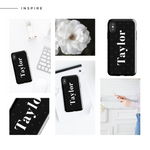 Personalised Phone Case | 50 Shades in Spots Black - The Luxe Gift Co.