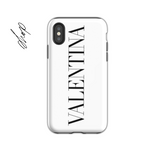 Personalised Phone Case | White Vogue
