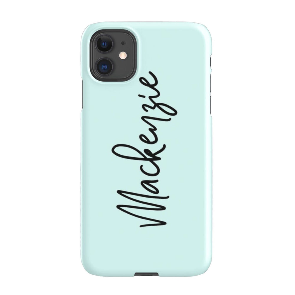iPhone Case | Script Mint