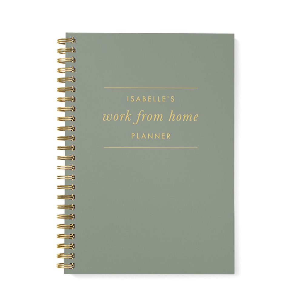 Work at Home Planner | Khaki