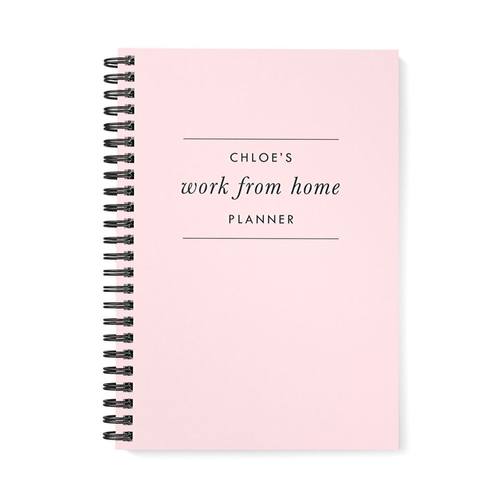 Work at Home Planner | Pink