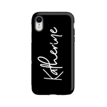 Personalised Phone Case | All in Black