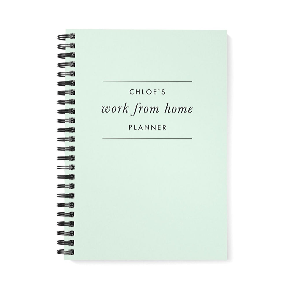 Work at Home Planner | Mint Green