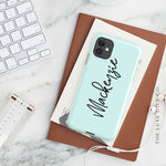 iPhone Case | Script Mint - The Luxe Gift Co.