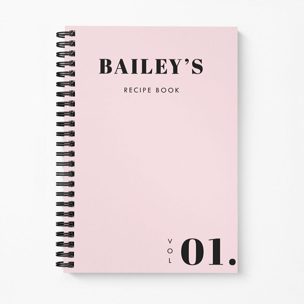Recipe Book | Bold Blush