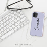 iPhone Case | Script Lilac - The Luxe Gift Co.