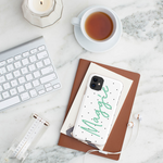 Personalised Phone Case | Do the Polka Mint Green - The Luxe Gift Co.