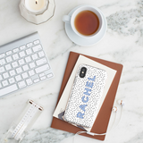 Personalised Phone Case | Taylor Made Blue - The Luxe Gift Co.