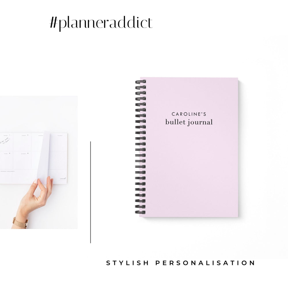 Bullet Journal A5 Notebook | Lilac - The Luxe Gift Co.