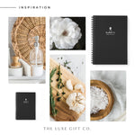 BBQ Recipe Book Personalised | Black - The Luxe Gift Co.