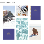 Personalised Travel Journal | Navy - The Luxe Gift Co.
