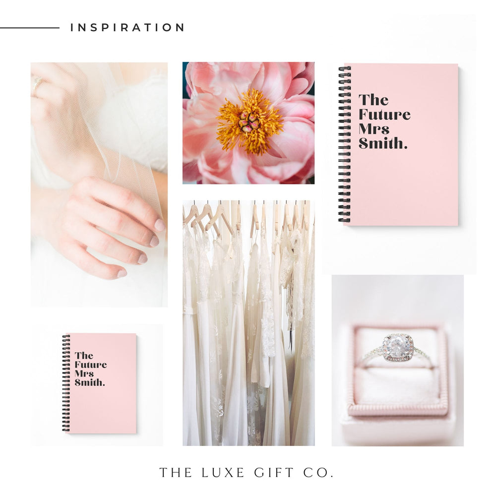 Bride Notebook | Blush - The Luxe Gift Co.