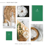 BBQ Recipe Book Personalised | Green - The Luxe Gift Co.