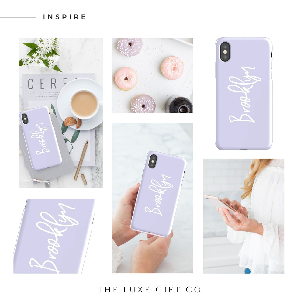 iPhone Case | Just Lilac - The Luxe Gift Co.