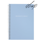 Personalised A5 notebook | My Idea in Blue