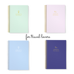 Personalised Travel Journal | Dream Holiday Mauve - The Luxe Gift Co.